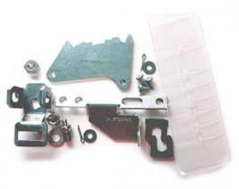 El Camino Shifter Conversion Kit, Powerglide To 700R4, 200-4R Or 4L60 Transmission, 1971-1972
