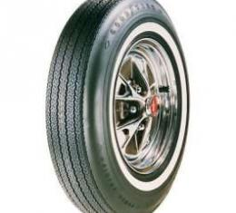 El Camino Tire, 6.95/14 With 7/8 Wide Whitewall, Goodyear Power Cushion Bias Ply, 1965-1966