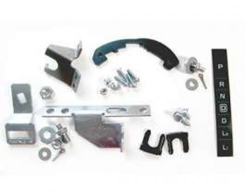 El Camino Shifter Conversion Kit, Powerglide To 700R4, 200-4R Or 4L60 Transmission, 1964-1965