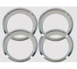 El Camino Wheel Trim Rings, 14 x 7, For 5 Spoke SS Wheel, 1969-1970