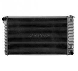 El Camino Radiator, Small Block, 4-Row, For Cars With Auto Transmission, With Or Without Air Condtioning, Desert Cooler,U.S. Radiator 1968-1971