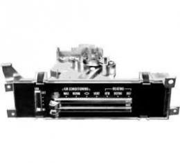 El Camino Heater & Air Conditioning Control Panel, 1971-1972