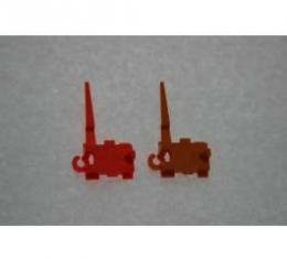El Camino Shift Indicator Pointer, Auto With Gauges, Orange, 1979-1985