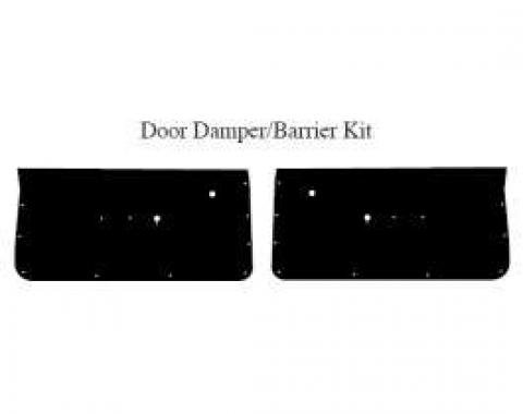 El Camino Insulation, QuietRide, AcoustiShield, 2 Door Damper/Barrier Kit, 1964-1967
