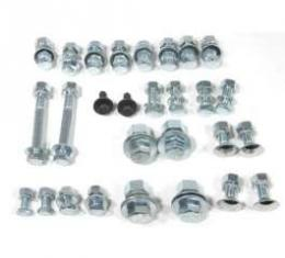El Camino Bumper Bolt Kits Front, Complete Mounting Kit, 100 Pieces, 1960