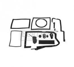 El Camino Heater Box Seal Kit, For Cars With Air Conditioning, 1968-1972
