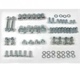 El Camino Bumper Bolt Kits Front, Complete Mounting Kit, 136 Pieces, 1959