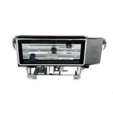 El Camino Heater Control Panel, 1966-1967