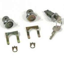 El Camino Ignition & Door Lock Set, Original Style Keys, 1966-1967
