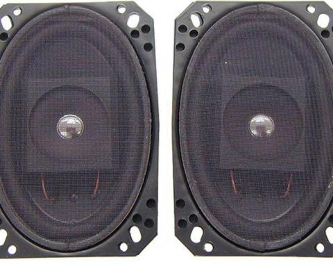 Corvette Custom In-Dash & Kick Panel Upgrade Speakers, 1968-1982