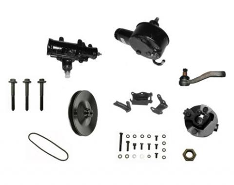 Camaro Power Steering Conversion Kit, 396 without Air Conditioning, 1967-1968