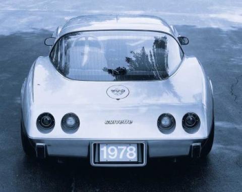 Corvette Rear Window Glass, Tinted & Heated, USED 1978-1982