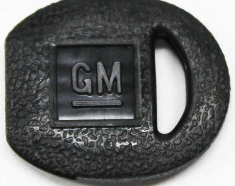 Corvette Ignition Key Cover, Round, 1969-1996