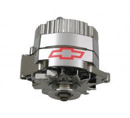 Proform Alternator, 120 AMP, GM 1 Wire Style, GM Bowtie Logo, Chrome Finish, 100% New 141-660