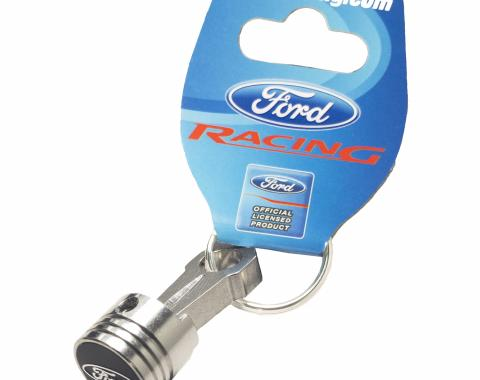 Proform Keychain, Piston and Connecting Rod Model, Ford Oval Logo, Sold Each 302-700