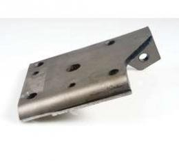 Camaro Shock Absorber Lower Mounting Plate, Right, Rear, For Cars With Multi-Leaf Springs, 1968-1969