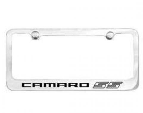 Camaro License Plate Frame, SS, 2010-2013