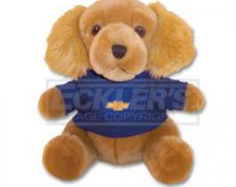 Chevy Themed Plush Stuffed Golden Retriever