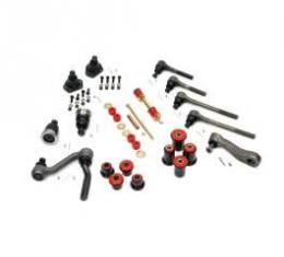 Camaro Suspension Overhaul Kit, Major, With Polyurethane Bushings, For Cars With Standard Ratio Manual Steering, 1968-1969