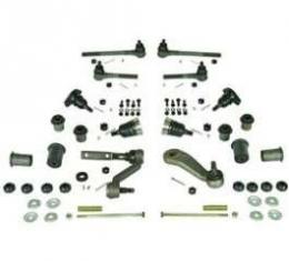 Camaro Suspension Rebuild Kit, Front, Major, For Cars With Standard Ratio Power Steering, 1968-1969