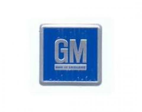 Camaro GM Mark Of Excellence Door Plate, 1968-1969