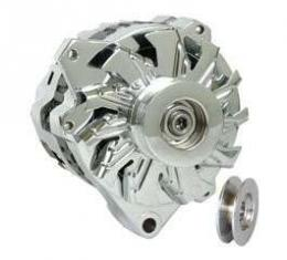 Camaro Powermaster Alternator, 105 AMP Chrome, 1988-1992