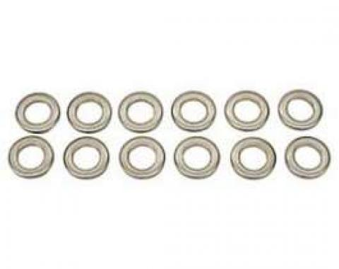 Camaro Exhaust Manifold Washer Set, Small Block, Thick, 1967-1969
