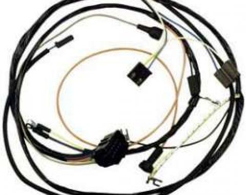 Camaro Engine Wiring Harness, Small Block, For Cars With Gauges, 1967