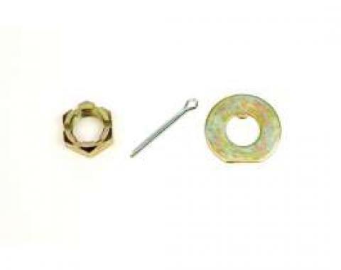 Camaro Disc Brake Spindle Nut, 1970-1990