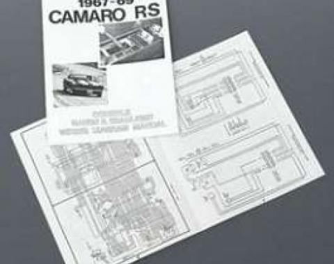Camaro Rally Sport (RS) Console Gauge & Headlight Wiring Manual, 1967-1969