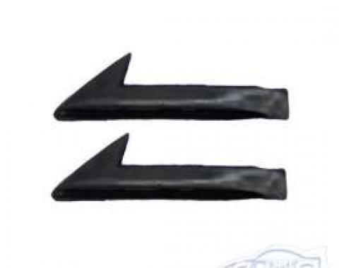 Camaro Front Door Glass Corner Filler Weatherstrip Seal, 1982-1992