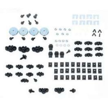 Camaro Basic Front End Assembly Hardware Kit, Rally Sport (RS), 1967-1968