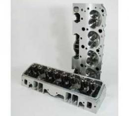 Camaro Cylinder Heads, Angle Plug, Aluminum, Small Block, Patriot Performance, 1970-1992