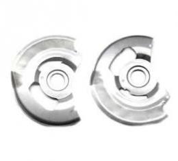 Camaro Disc Brake Backing Plates, Correct Reproduction, 1970-1981
