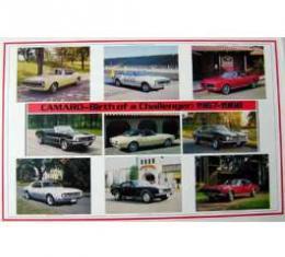Camaro 1967-1968 Birth Of A Challenger Poster