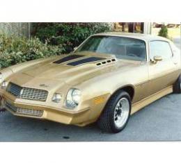Camaro Hood, Daytona Style, 4 Rise, Fiberglass, 1970-1981
