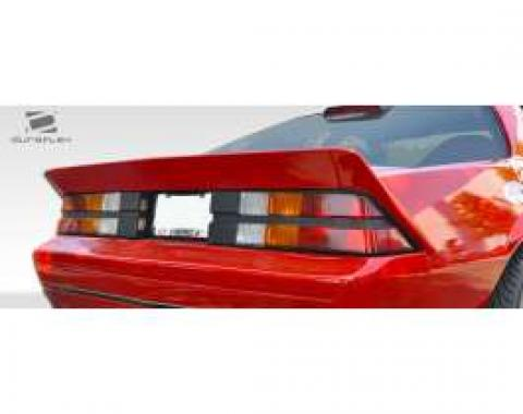 Camaro Duraflex Xtreme Wing Trunk Lid Spoiler, Extreme Dimensions, 1982-1992