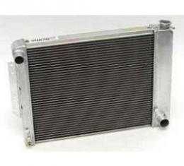 Camaro Radiator, LT1, Aluminum, For Cars With Manual Transmission, HP Series, Griffin, 1993-1997