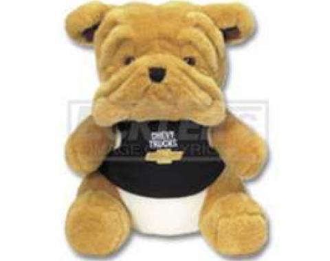 Chevy Themed Plush Stuffed Bulldog