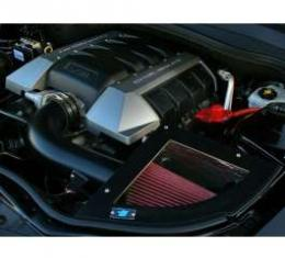 Camaro Cold Air Induction Intake System, Black Powder Coated, 6.2L V8, 2010-2013