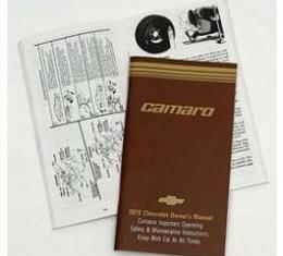 Camaro Owner's Manual, 1979