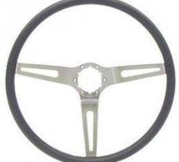 Camaro Sport 3 Spoke Steering Wheel, Comfort Grip, 1969