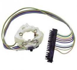Camaro Turn Signal Switch Assembly, With Adapter, For Cars With Tilt Or Non-Tilt Steering Column, 1969
