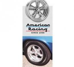 Camaro Torq-Thrust II Wheel, 17 x 8, American Racing, 1970-1981
