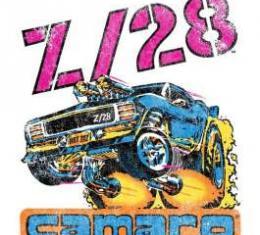 Camaro Z/28 Vintage Style T-Shirt, Black