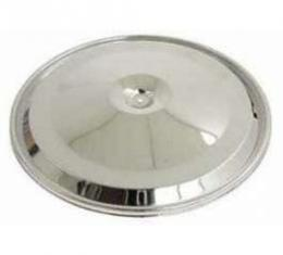 Camaro Air Cleaner Lid, Chrome, For Closed Element Filters, Z28, 1970