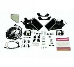 Camaro Rally Sport (RS) Headlight Door System Kit, V8, For Cars With Warning Lights, 1967