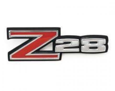 Camaro Front Fender Emblem, Z28, 1970-1974