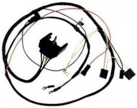 Camaro Engine Wiring Harness, Small Block, For Cars With Warning Lights, 1968