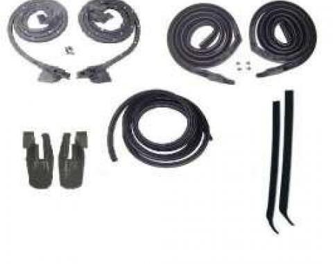 Camaro Coupe Body Weatherstrip Kit, 1968-1969